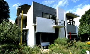 The Rietveld Schroder House.