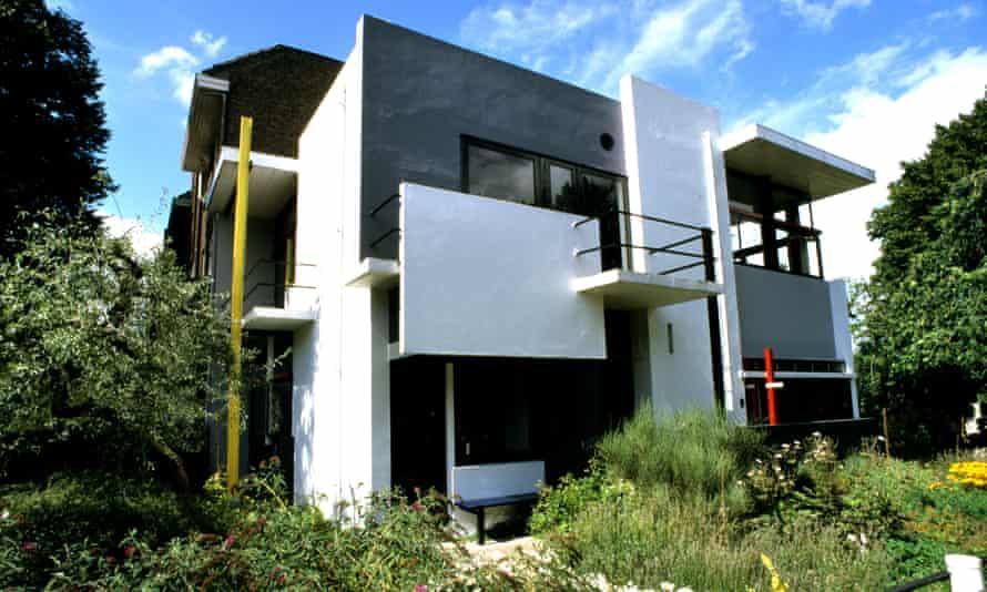 The Rietveld Schroder House.