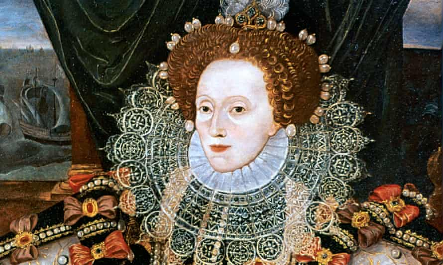 Poison pen … Elizabeth I painted by George Gower circa 1588.