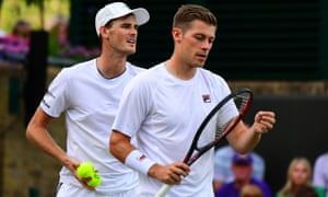 Jamie Murray and doubles partner Neal Skupski were knocked out