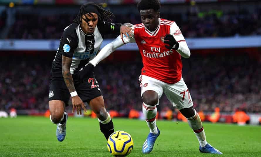 Bukayo Saka has made a string of impressive displays at the start of his Arsenal career.