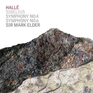 Hallé/Elder: Sibelius: Symphonies Nos 4 & 6 album art work