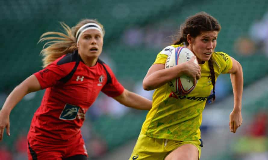 Charlotte Caslick will be one to watch at the 2016 Olympic Games in Rio.