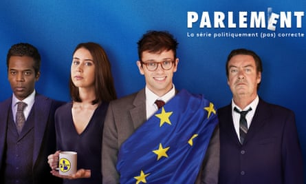 Parlement charts the progress of a political naïf who arrives in Brussels to work for a member of the European parliament.