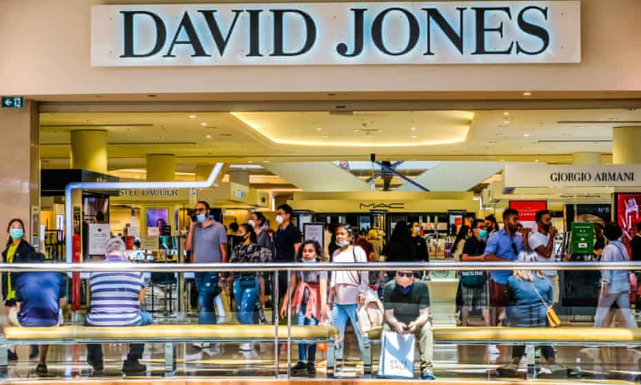 Boxing Day shopping in Melbourne