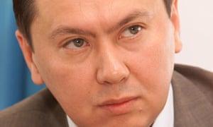 Rakhat Aliyev in 2011 during his term as ambassador of Kazakhstan to Austria.