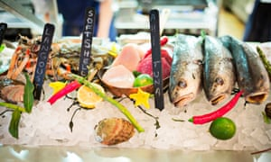 """While the actual plastic bits might be in the stomachs of fish, the chemical used to the manufacture the plastic """"may migrate into fish flesh and thus edible parts of seafood""""."""