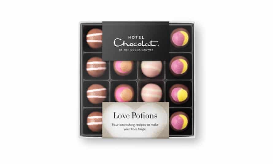 Love potions from hotelchocolat.com