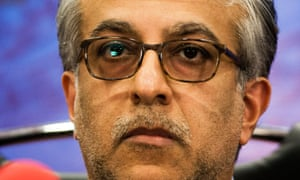 Sheikh Salman bin Ebrahim al-Khalifa was elected president of the Asian Football Confederation in 2013 with the backing of the Fifa president, Sepp Blatter, and is now standing to replace him at elections in February.