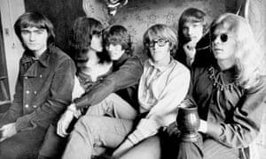 Marty Balin, far left, with members of Jefferson Airplane - from left, Grace Slick, Spencer Dryden, Paul Kantner, Jorma Kaukonen and Jack Casady - in 1968.