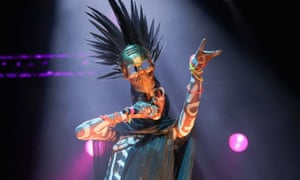Grace Jones performs at Auckland City Limits Music Festival on 3 March 2018 in Auckland, New Zealand.