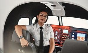 Fareeha Ahmed - trainee pilot - Bucks New university