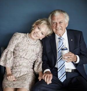 Bob Hawke and Blanche d'Alpuget (2017) by Harold David