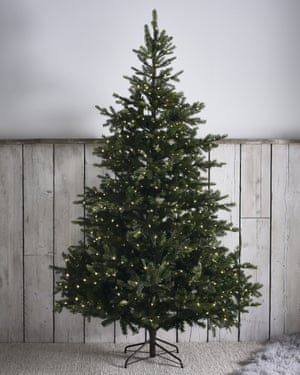 The White Company's 7ft pre-lit Grand Spruce tree