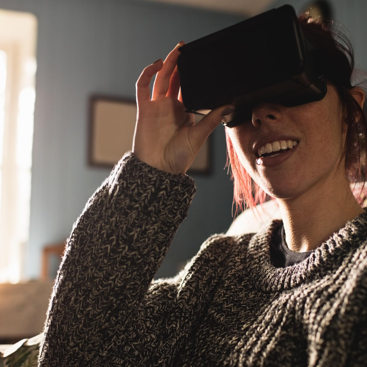 Can Virtual Reality Help Get You Through Lockdown Games The Guardian