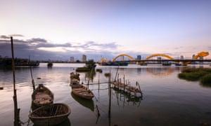 Bridge in Da Nang Vietnam