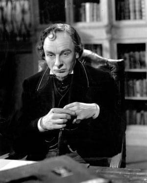 John Gielgud as Disraeli in the 1941 film The Prime Minister.