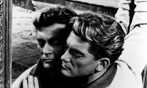 A still of Jean Marais in Jean Cocteau's 1949 film Orpheus.