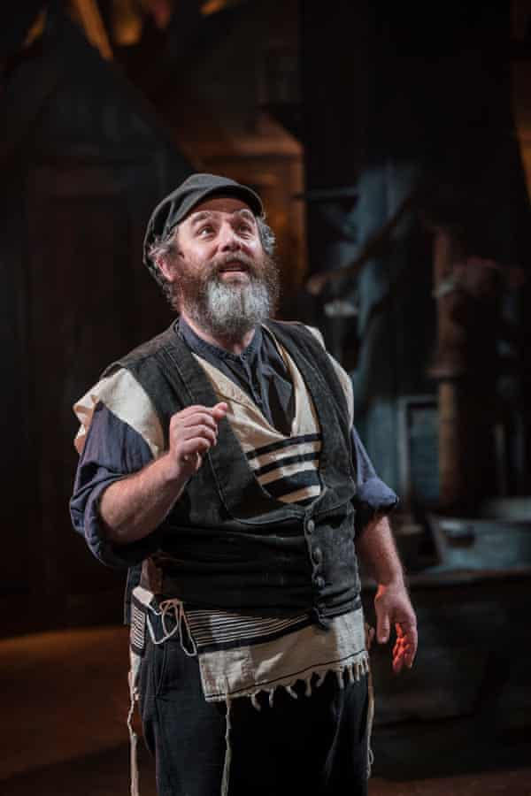 Andy Nyman in Fiddler on the Roof.