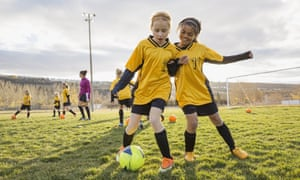 'Teachers need to support girls to pursue sports beyond the age of 14 ...'