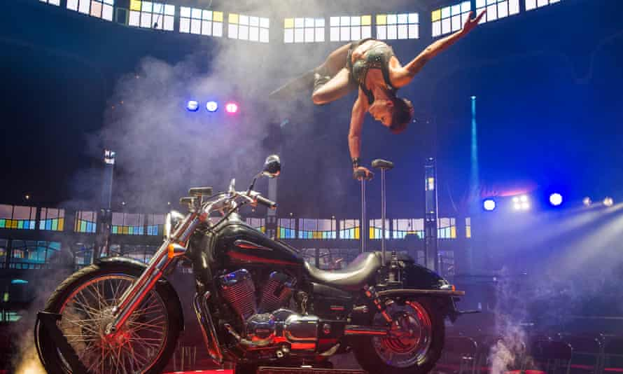 Melanie Chy in La Soirée at the Southbank Centre in London.
