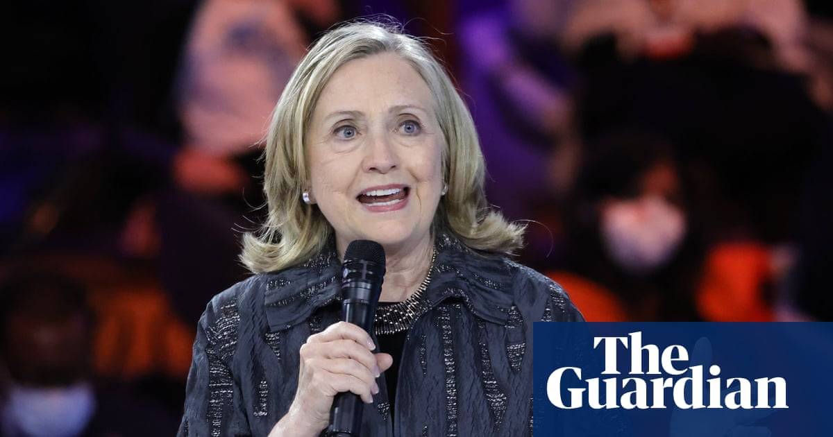 US faces 'real battle for democracy' against far right, says Hillary Clinton