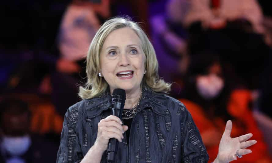 Hillary Clinton, the former US secretary of state