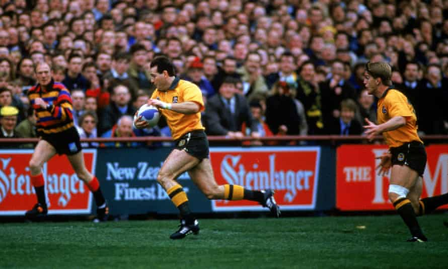 David Campese's finest moment for the Wallabies came against the All Blacks in the World Cup semi-final in 1991.