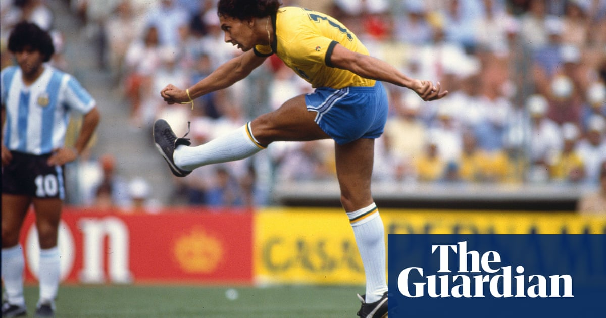 The Joy of Six: football and the outside of the boot - The Guardian
