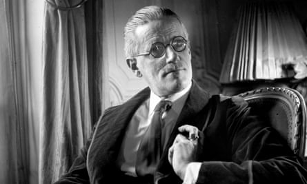 On Anna Livia I am prepared to stake everything' … James Joyce in 1934. Photograph: Roger Violett.