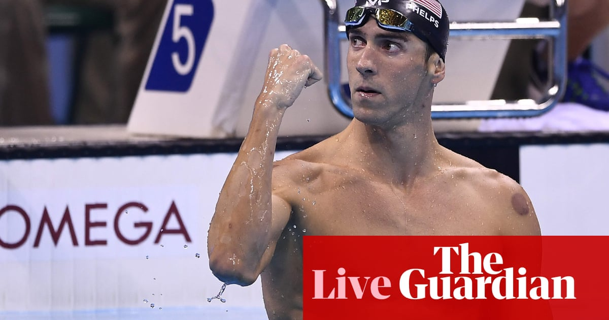 Rio Olympics: Michael Phelps wins 21st swimming gold medal
