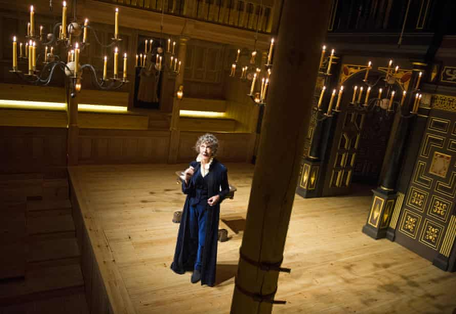Eileen Atkins in Ellen Terry With Eileen Atkins at the Sam Wanamaker Playhouse, 2014.