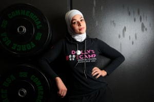 Dalal Karra-Hassan, trainer and founder of Dolly's Bootcamp,  at her gym