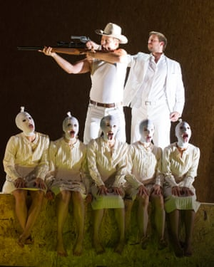 Handel's Julius Caesar in a production for English National Opera.