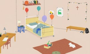 Gavin, medically fragile, cognitively and physically disabled was getting a new first-floor bedroom.