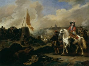 James Scott, Duke of Monmouth and Buccleuch by Jan van Wyck, c1675