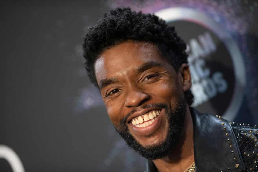 Chadwick Boseman, who died of cancer in August, was posthumously voted best actor for 1920s blues drama Ma Rainey's Black Bottom in the 2021 SAG awards.