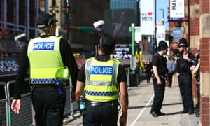 Britain's police are largely unarmed and officers need to volunteer to carry a gun.