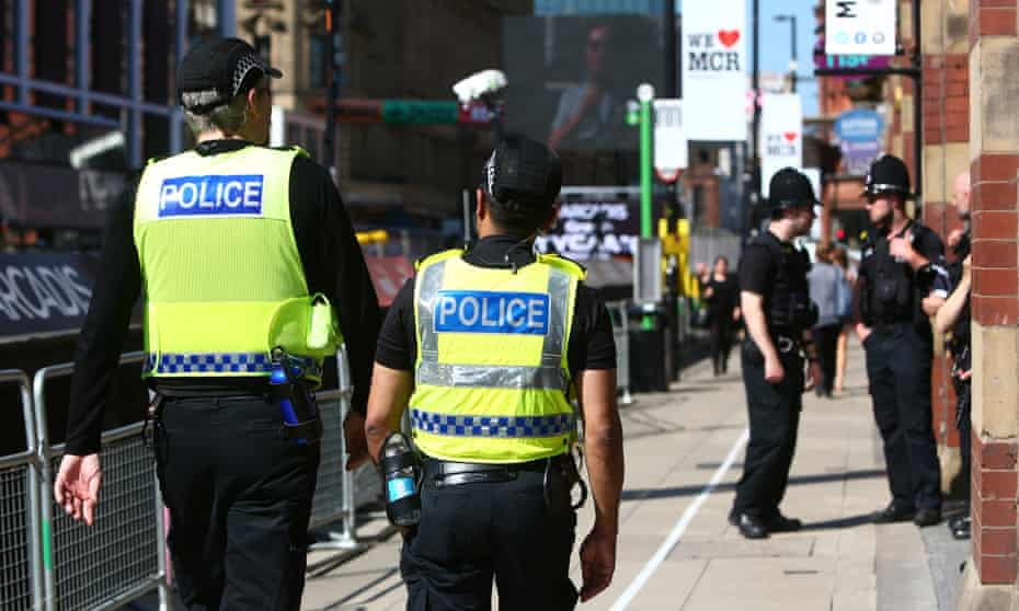 Police in Manchester, May 2017