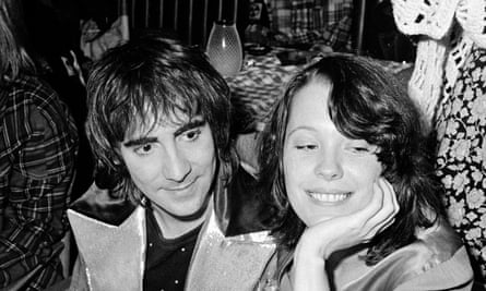 Wild nights out: Des Barres on the town with Keith Moon of the Who.