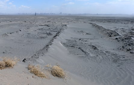 A 10-square-kilometre expanse of toxic waste on the edge of the Gobi desert, inner Mongolia.