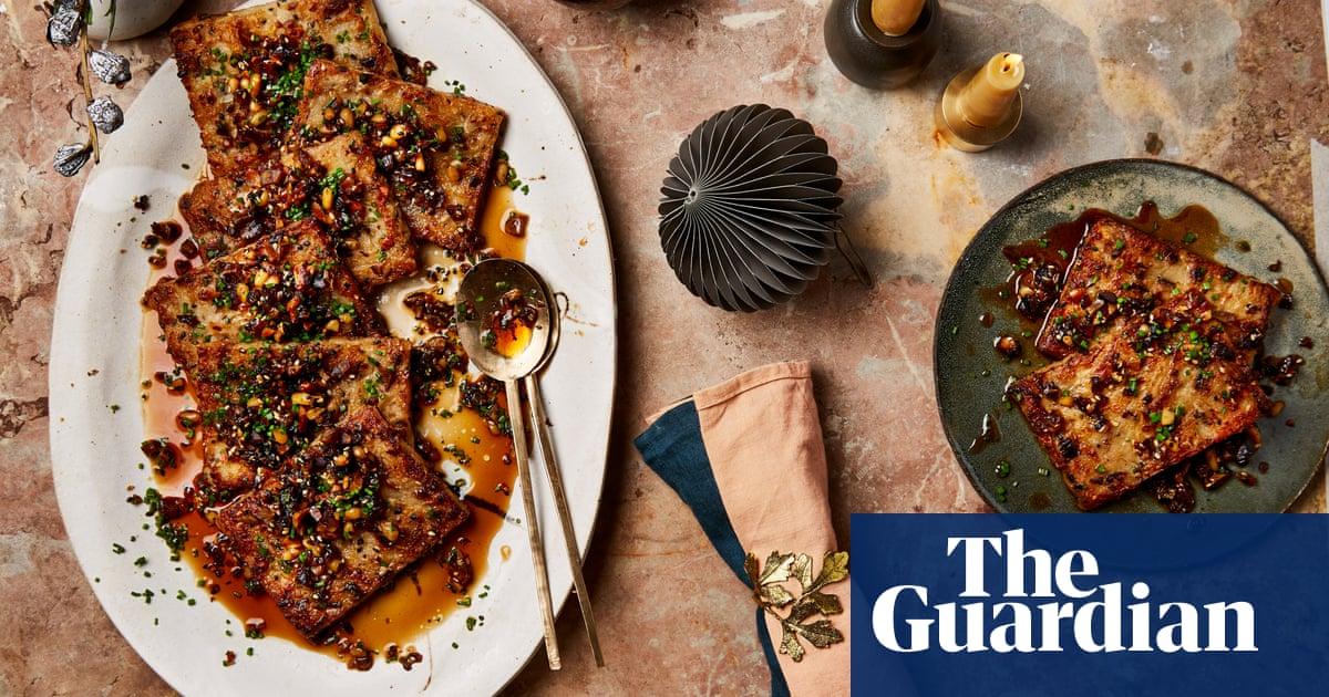 Alternative Christmas dinner: Yotam Ottolenghi's vegan recipe for Chinese turnip cake