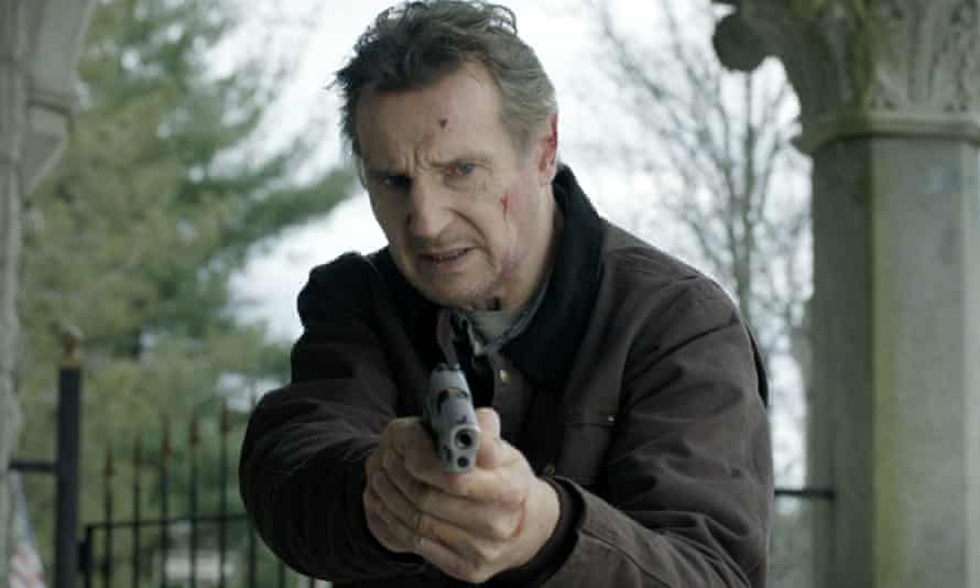 'Going to the cinema is a bit of a sacred experience' … Liam Neeson in Honest Thief.
