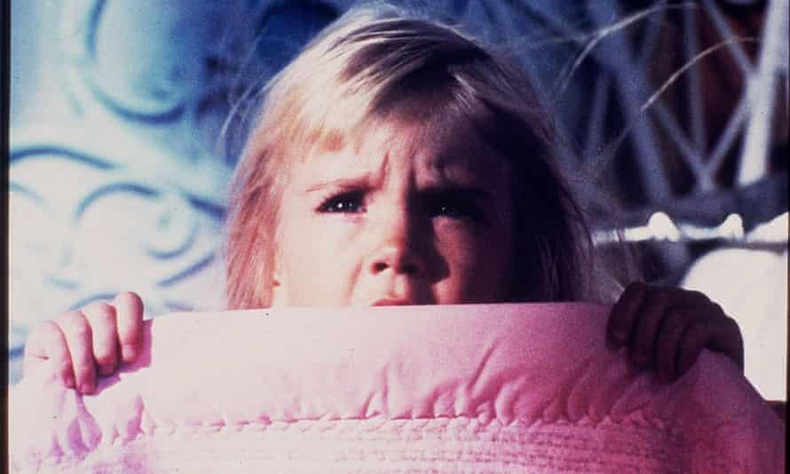 Heather O'Rourke in Poltergeist.