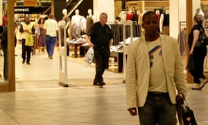 african american man shopping