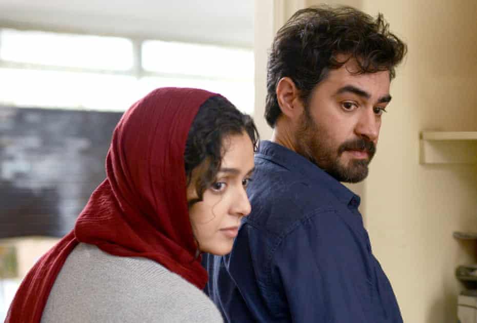 Disturbing, quasi-inexplicable crisis … Hosseini with Taraneh Alidoosti as Rana.