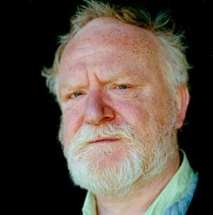Playwright Frank McGuinness.