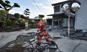 A powerful earthquake hit southern Japan in April this year.
