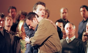 Mark Padmore and Leigh Melrose in the St John Passion in 2000.