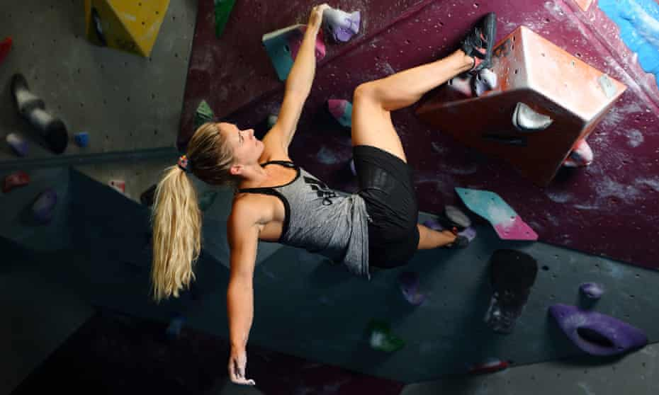 Shauna Coxsey will compete in sport climbing at the Tokyo Games